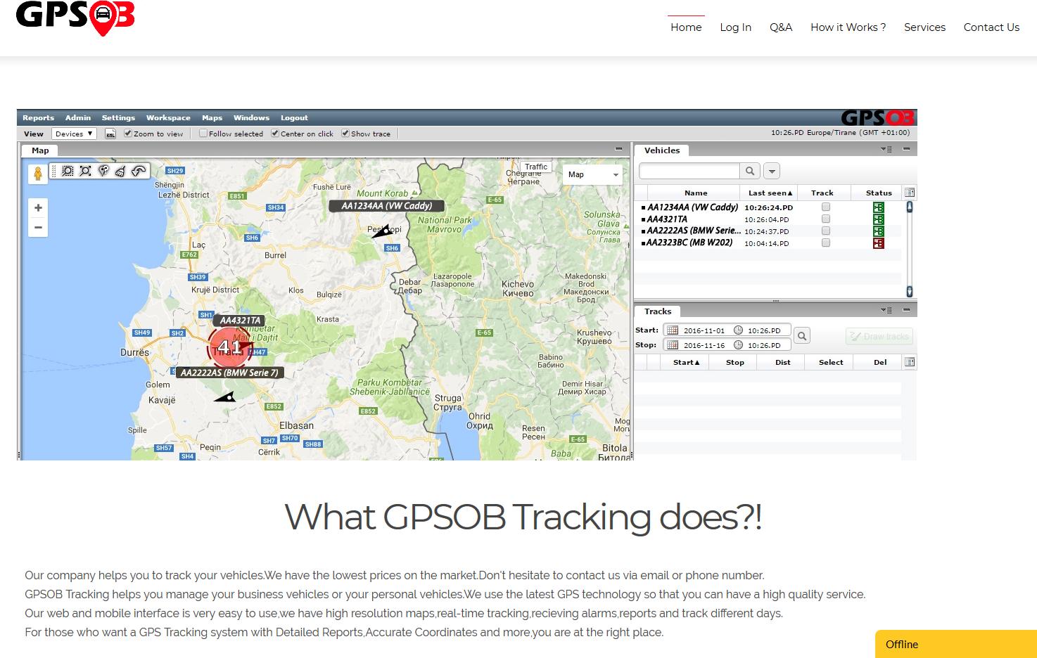 GPSOB Tracking